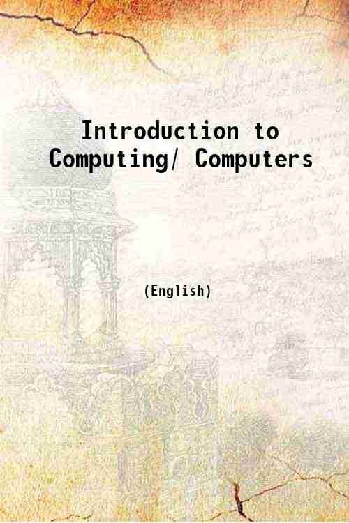 Introduction to Computing/ Computers