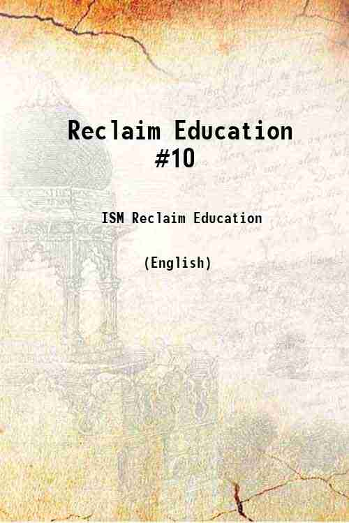 Reclaim Education #10