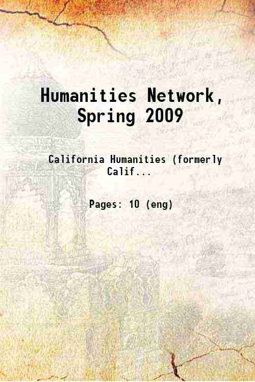Humanities Network, Spring 2009