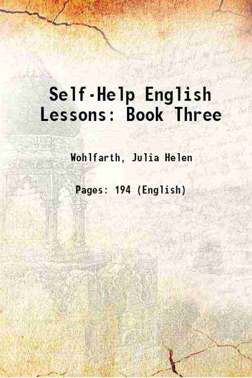 Self-Help English Lessons: Book Three