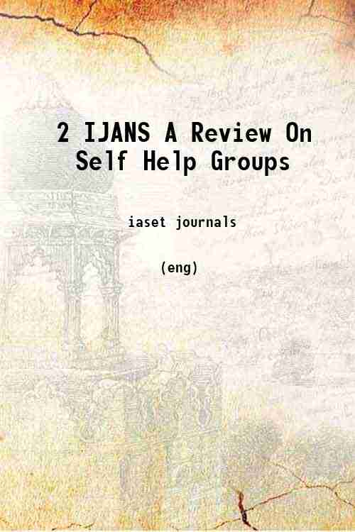 2 IJANS A Review On Self Help Groups