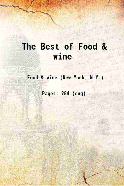 The Best of Food & wine
