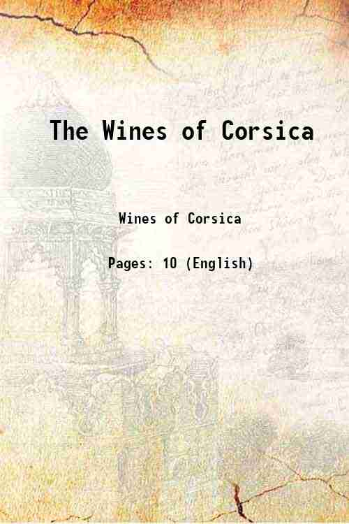 The Wines of Corsica