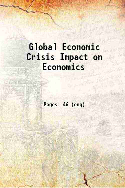 Global Economic Crisis Impact on Economics